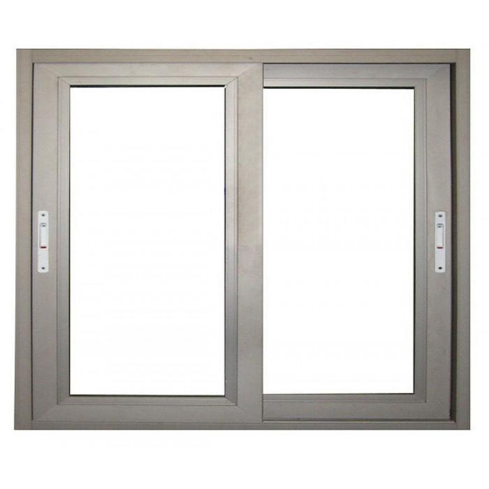 cửa sổ lùa 2 cánh nhôm việt pháp