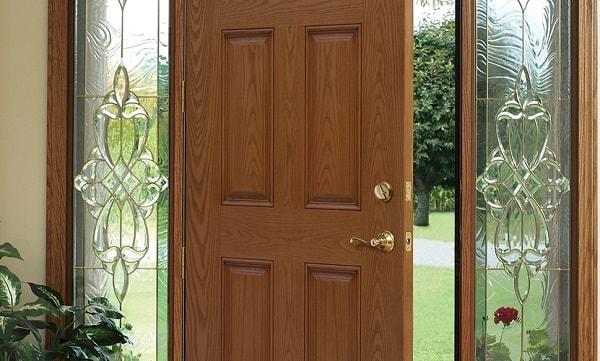 mẫu cửa nhựa lõi thép đẹp - cửa nhựa lõi thép vân gỗ